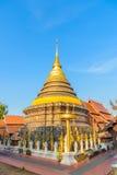 Wat Phra die de tempel van Lampang Luang Royalty-vrije Stock Afbeelding