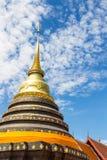 Wat Phra die Lampang Luang Stock Foto's
