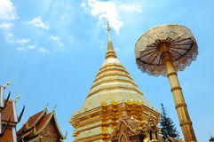 Wat Phra dieses doi SU-thep lizenzfreies stockfoto