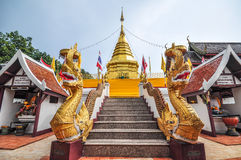 Wat Phra That Doi Kham Chiang Mai Arkivbild