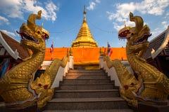 Wat Phra That Doi Kham, Chiang Mai, Thaïlande Image libre de droits