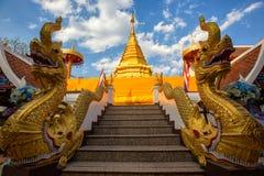 Wat Phra That Doi Kham, Chiang Mai, Thaïlande Photographie stock