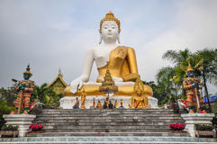 Wat Phra That Doi Kham Chiang Mai Stock Photos