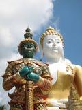 Wat Phra That Doi Kham Stock Photography