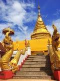 Wat Phra That Doi Kham ,Wat thai ,Buddha ,Buddhist ,Buddhism ,Wat  ,Temple , Chiangmai , Thailand , Asia.  Royalty Free Stock Photography