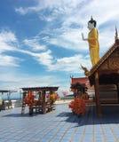 Wat Phra That Doi Kham ,Wat thai ,Buddha ,Buddhist ,Buddhism ,Wat  ,Temple , Chiangmai , Thailand , Asia Royalty Free Stock Image