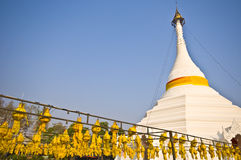 Wat Phra That Doi Kong Mu. Part of the temple Wat Phra That Doi Kong Mu in mae Hong Son Royalty Free Stock Photos