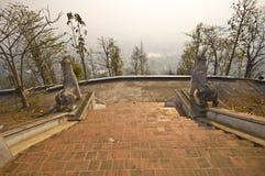 Wat Phra That Doi Kong Mu Stock Photo