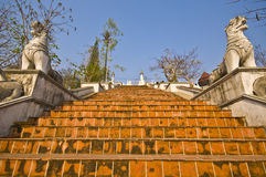 Wat Phra That Doi Kong Mu. Part of the temple Wat Phra That Doi Kong Mu in mae Hong Son Stock Images