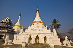 Wat Phra That Doi Kong Mu Stock Images