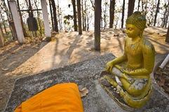 Wat Phra That Doi Kong Mu. Part of the temple Wat Phra That Doi Kong Mu in mae Hong Son Stock Image