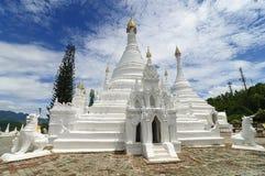Wat Phra That Doi Kong Mu,Mae Hong Son,Northern Thailand. Royalty Free Stock Photos