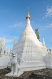 Wat Phra That Doi Kong MU in Mae Hong Son, Thailand stockfotografie
