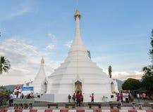 Wat Phra That Doi Kong Mu in Mae Hong Son, Thailand Royalty Free Stock Image
