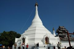 Wat Phra That Doi Kong Mu, Mae Hong Son Stock Image