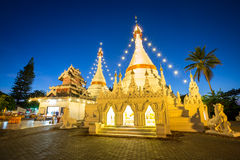 Wat Phra That Doi Kong Mu temple Royalty Free Stock Photos
