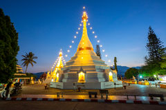 Wat Phra That Doi Kong Mu temple Royalty Free Stock Photos