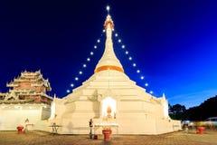 Wat Phra That Doi Kong Mu temple on a mountain top Stock Photography