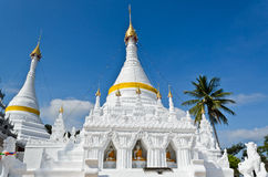 Wat Phra That Doi Kong Mu Temple, Thailand. Wat Phra That Doi Kong Mu Temple. Amphoe Mueang. Mae Hong Son Province, Thailand Stock Photography