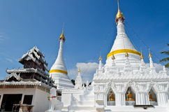 Wat Phra That Doi Kong Mu Temple, Thailand. Stock Photo
