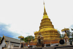 Wat Phra That Doi Noi Images libres de droits