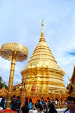 Wat Phra That, Doi Suthep Stock Photo