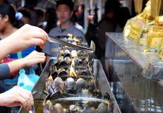 Wat Phra That, Doi Suthep Royalty Free Stock Photography