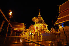 Wat Phra That Doi Suthep Fotografie Stock