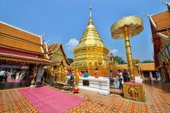 Wat Phra That Doi Suthep, Chiang Mai royalty-vrije stock foto