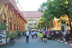 Wat Phra That Doi Suthep in Chiang Mai Stock Image
