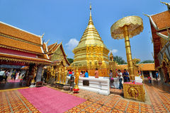 Wat Phra That Doi Suthep, Chiang Mai Royalty Free Stock Photo