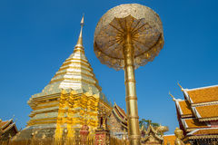 Wat Phra That Doi Suthep in Chiang Mai, Thailand Royalty Free Stock Image