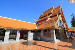 Wat Phra That Doi Suthep in Chiang Mai, Thailand Royalty Free Stock Images