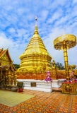 Wat Phra That Doi Suthep in Chiang Mai, Thailand Stock Photo