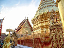 Wat Phra That Doi Suthep in Chiang Mai Thailand. Wat Phra That Doi Suthep in Chiang Mai Province Northern Thailand. The temple have been founded in 1383 when the Stock Photos