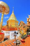 Wat Phra That Doi Suthep, Chiang Mai, Thailand Royalty Free Stock Images