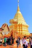 Wat Phra That Doi Suthep, Chiang Mai, Thailand stock images