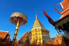 Wat Phra that Doi Suthep Royalty Free Stock Photography