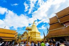 Wat Phra That Doi Suthep el templo fundado en 1385 es un l importante Fotos de archivo