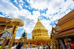 Wat Phra That Doi Suthep el templo fundado en 1385 es un l importante Fotografía de archivo libre de regalías