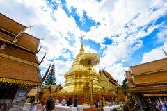 Wat Phra That Doi Suthep el templo fundado en 1385 es un l importante Fotos de archivo libres de regalías