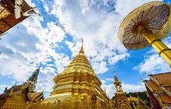 Wat Phra That Doi Suthep el templo fundado en 1385 es un l importante Foto de archivo