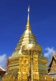Wat Phra That Doi Suthep el templo más popular de Chiang Mai, Tailandia Foto de archivo libre de regalías