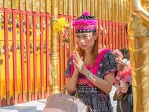 Wat Phra That Doi Suthep en Chiang Mai, Tailandia Fotografía de archivo