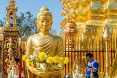 Wat Phra That Doi Suthep en Chiang Mai, Tailandia Fotos de archivo