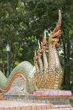 Wat Phra That Doi Suthep en Chiang Mai, Thaïlande Photo stock