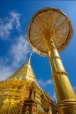 Wat Phra That Doi Suthep en Sunny Day Chiang Mai Images libres de droits