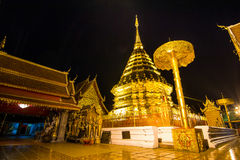 Wat Phra That Doi Suthep Famous Temple of ChiangMa Stock Image