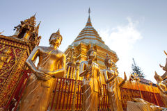 Wat Phra That Doi Suthep, historical temple in Thailand Stock Images