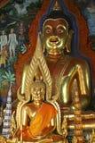 Wat Phra That Doi Suthep i Chiang Mai, Thailand Royaltyfri Bild
